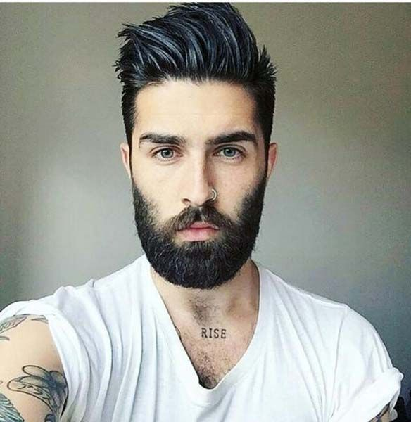 Men s  Hairstyle  With Beards 2019 Men  Hairstyle  2019