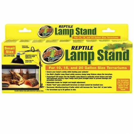 Zoo Med Reptile Lamp Stand Small Multi Colored