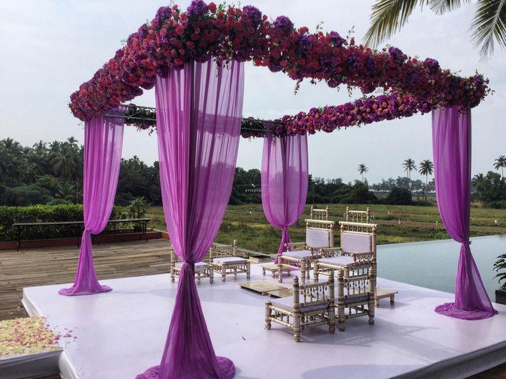 Luxury purple! Photo by Ātisuto, Mumbai #weddingnet #wedding #india #indian #indianwedding #mandap #mandapdecor #mandapdesigns #mandapdecoroutdoor #outdoorwedding #mandapideas #weddingdecor #decor #decorations #decorators #indianweddingoutfits #outfits #backdrops #llittlethings #flowers #flowersdecor