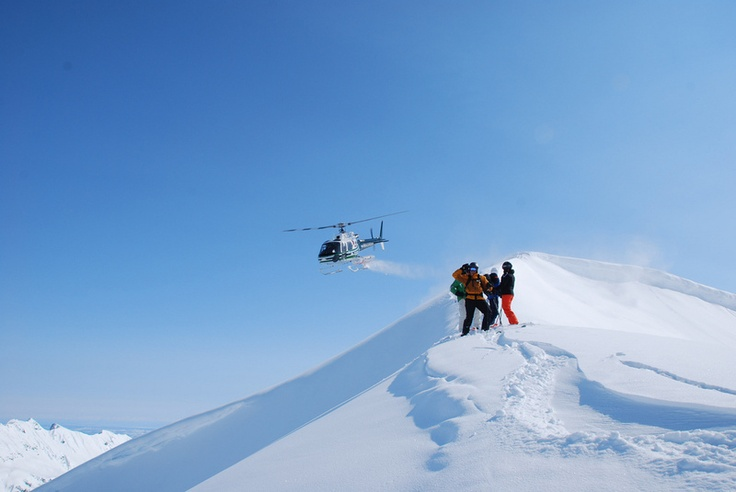 Alaskan Heli-boarding.  You're taken aboard a helicopter to a mountain peak in the Alaskan Rockies and dropped off with a board and a pack for the ride of a lifetime.  This will happen.