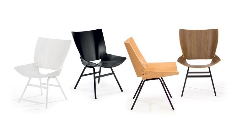 Rex Kralj Shell Lounge Stuhl
