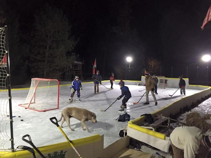 NiceRink Backyard Ice Rink Kit Makes Your Yard The Perfect Place To Skate