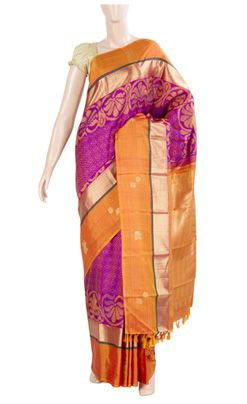 Lightweight silk saree