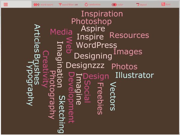 These free word cloud generators are useful tools for teachers, designers and everybody who wants to make impressive presentations.