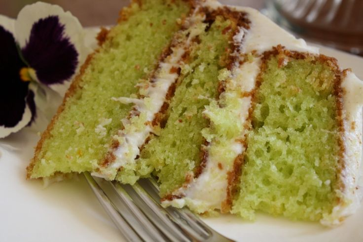 Lime cake...1 box Duncan Hines lemon cake mix, 3/4 cup orange juice, 1 3/4 cup Wesson oil, 5 eggs, 1 small box instant lime jello. Frosting...5 cups powdered sugar, 8 oz cream cheese, 1 stick butter, softened, 1 teaspoon vanilla, 3 Tablespoons lime juice. Cake...Spray three (3) 8- or 9-inch cake pans with non-stick spray. Preheat oven according to instructions on cake box (350 degrees). Mix all cake ingredients together in stand mixer on medium speed for 2 to 3 minutes. Bake according to box…