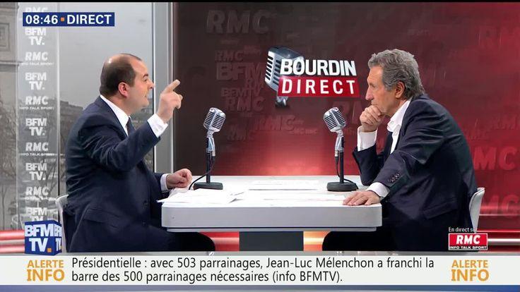 David Rachline face à Jean-Jacques Bourdin en direct