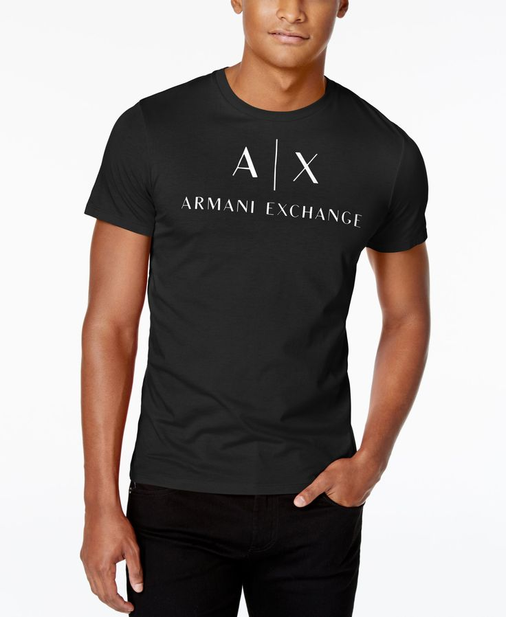 Armani Exchange Men's Core Pirati Graphic-Print Logo T-Shirt