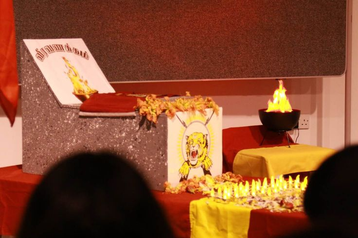 Tamil students commemorate Maaveerar Naal in London