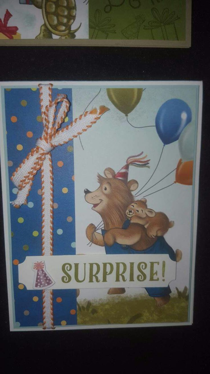 36 Best Stampin Up Birthday Delivery Images On Pinterest