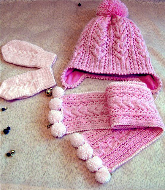 Pembe seti (şapka, eldiven, eşarp). Rus Servis Online Diaries - Kayd üzerine tartışma