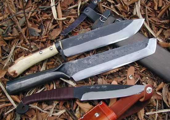 hunted knife, mountain knife works