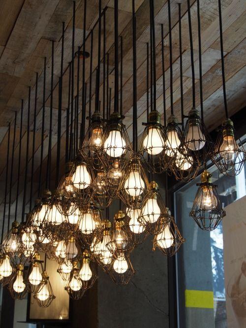 Indsutrail Style light... So awseome! #Lighting #Light #LightBulb