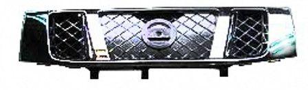 2008-2014 Nissan Titan Grille Black w/Chrome