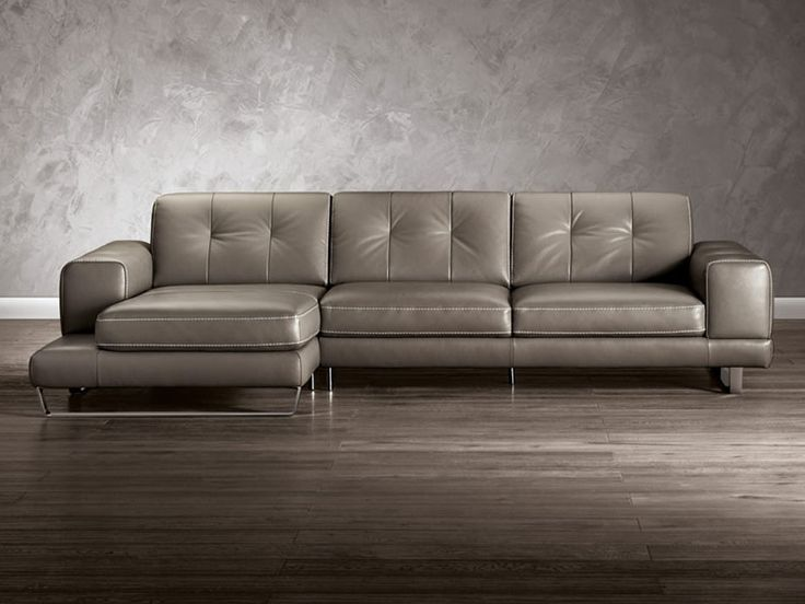 Natuzzi Editions B636 Sectional :: Leather Sectional