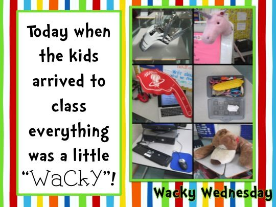 Ms. Shope's Class: Wacky Wednesday