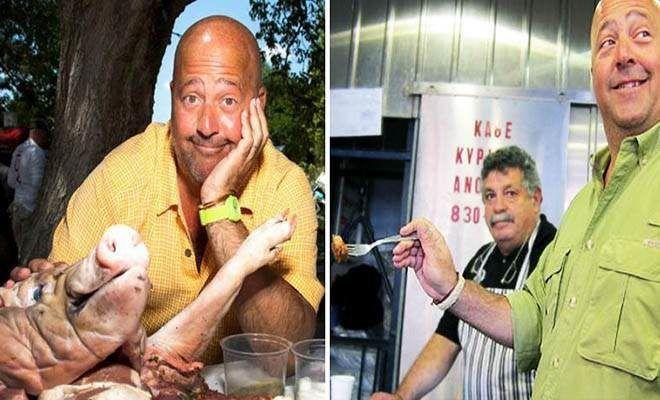 Tα πιο παράξενα φαγητά της Ελλάδας κατά τον Aμερικανό παρουσιαστή Άντριου Ζίμρν  #Βίντεο