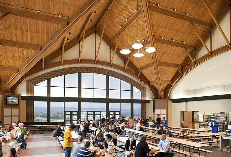 Hord Coplan Mact - Valor Christian High School Cafeteria  Highlands Ranch, Colorado