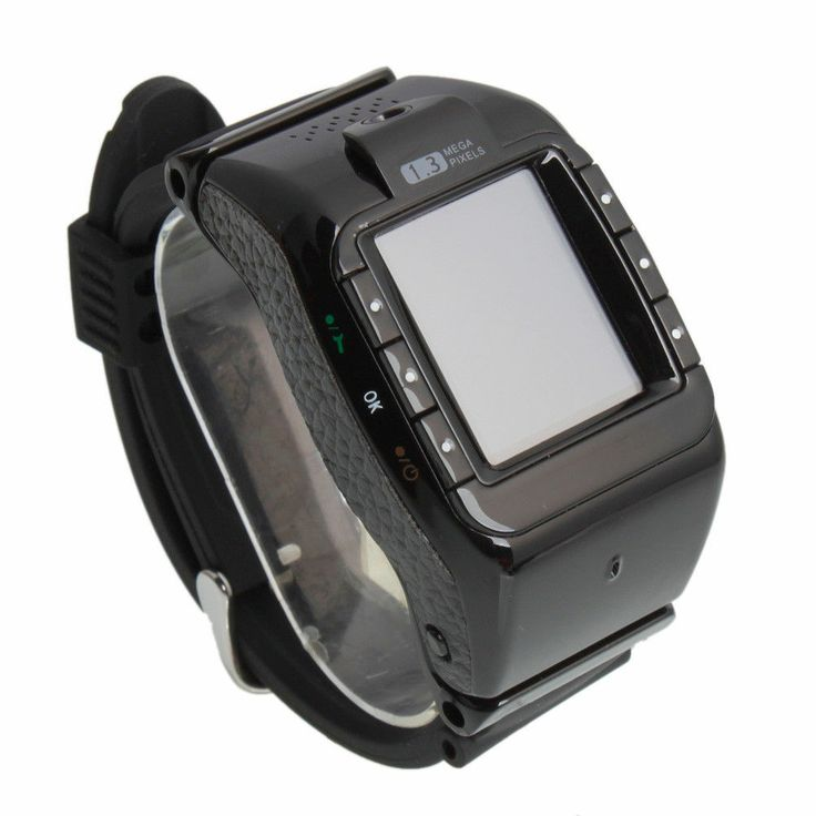 """N388 1.3"""" Touch Screen Tri-Band Camera Bluetooth Watch Cell Phone Black http://Mobile1stChoice.com #Mobile1stChoice"""