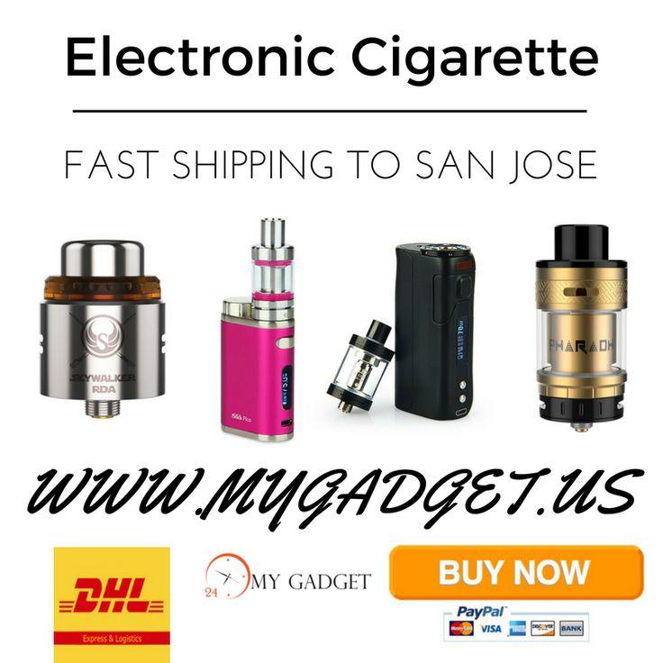 Electronic Cigarette San Jose | Pinterest | 3 Days Shipping https://www.mygadget.us #electronic #cigarette #san #jose