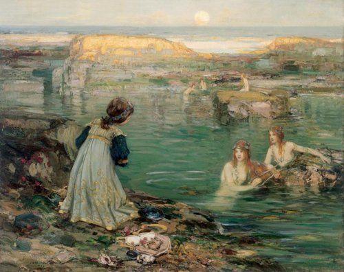 Thomas Bromley Blacklock - Sea Maidens