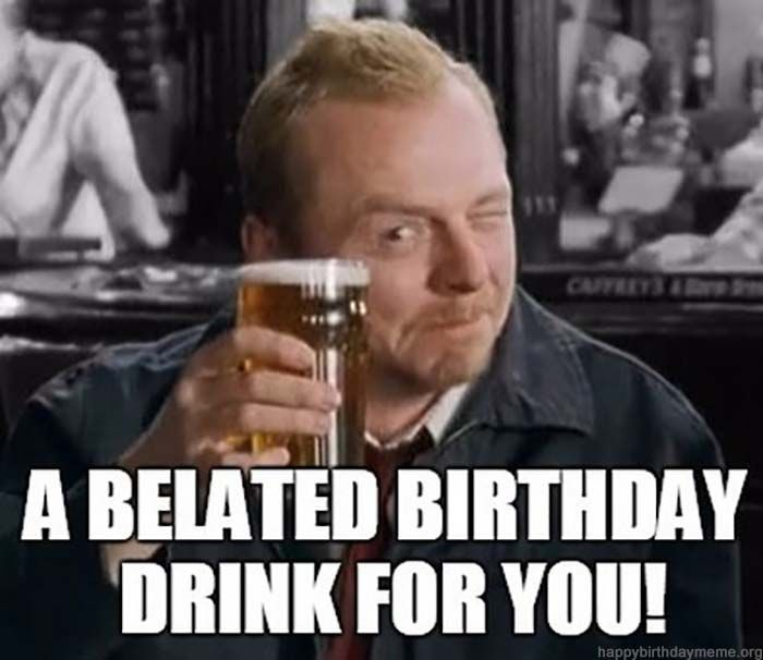 42 Funniest Belated Happy Birthday Meme Birthday Meme Happy Birthday Meme Birthday Greetings Funny Belated Birthday With tenor, maker of gif keyboard, add popular happy belated birthday meme animated gifs to your conversations. 42 funniest belated happy birthday meme