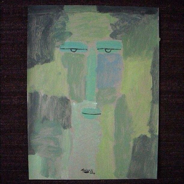 Rapper. 2009.  Acrylic on paper.  40x30cm  $200