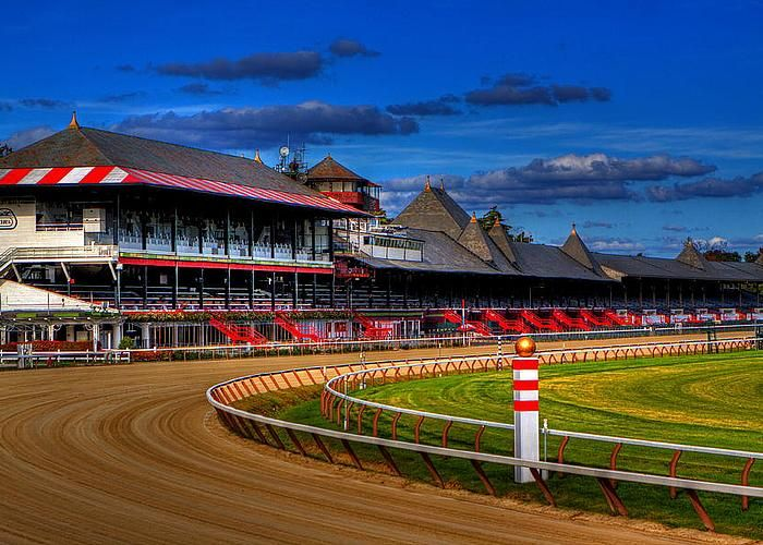 Saratoga Race Track-Saratoga, Ny-The August place to be,