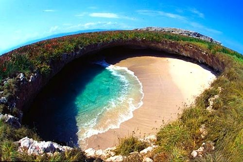 Hidden beach, Marieta Islands, Mexico | marieta islands national park mexico riviera nayarit mexico today i ...