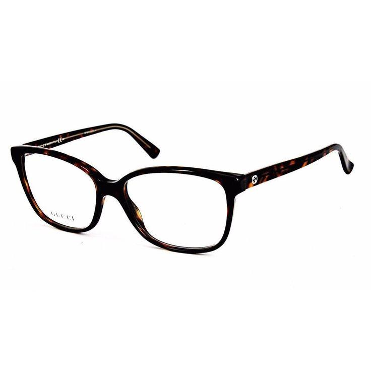 Gucci 3724 0HNZ Womens Rectangular Eyeglasses