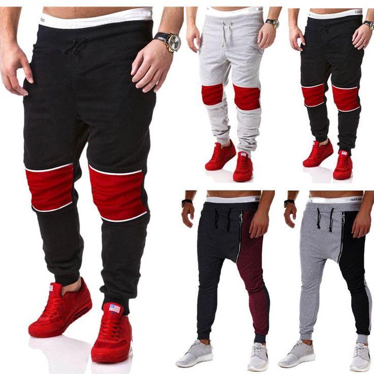 2016 Hot Spring Men's Baggy Cargo jean jogger Harem Pants Men Jeans Casual Trousers hip hop jeans robin biker male