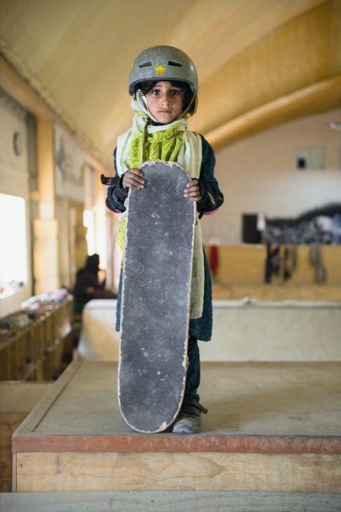 Photos Of Kabul's Littlest Skaters Totally Shredding