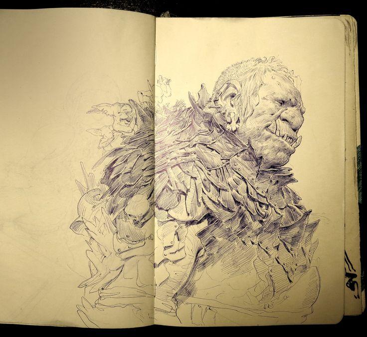 ArtStation - Daily Sketches Week 35, Even Amundsen