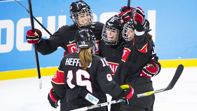 2014 sochi olympics hockey | Canada's women bury Switzerland 5-0 in Olympic opener