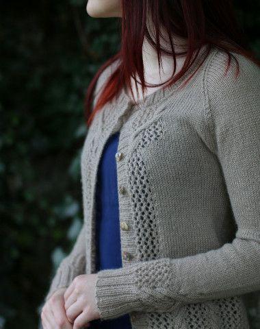 Love the delicate details of Carol Feller's patterns.