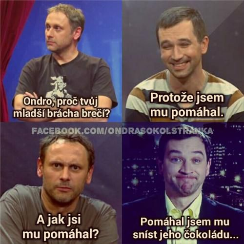 Pomáhání s čokoládou  | Loupak.cz