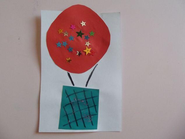 Воздушный шар . - Поделки с детьми | Деткиподелки