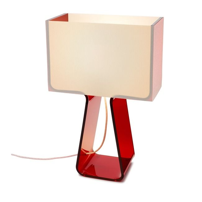 Tube Top Color Table Lamp By Pablo Tt 14 Red In 2020 With