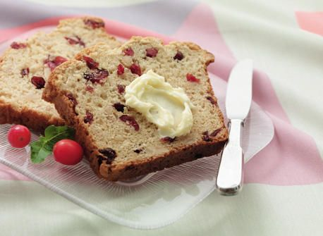 Almond Cranberry Loaf - Recipes | Dairy Goodness - Nourish your day