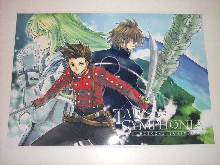 Tales of Symphonia ~ A3 Size Poster / Print ~ NEW (7)