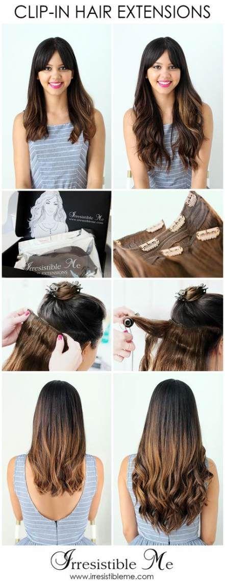 21+ Ideen Haarverlängerungen vor und nach Frisuren erste Bestellung