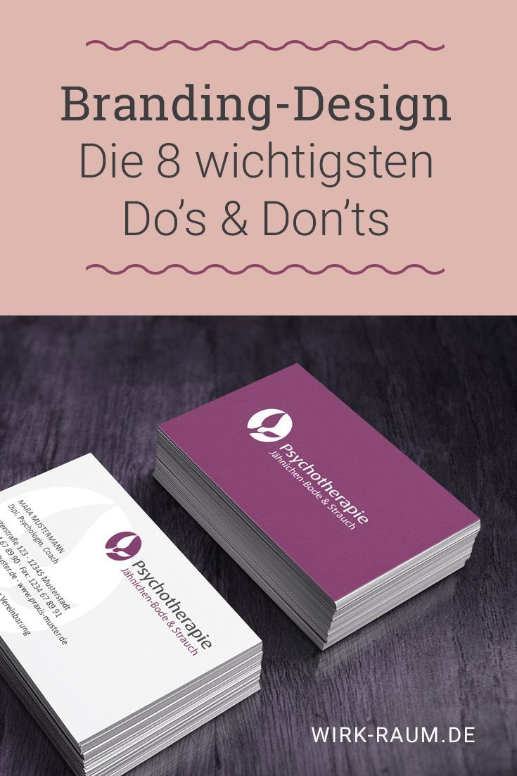 Branding-Design: 8 wichtige Do's & Don'ts