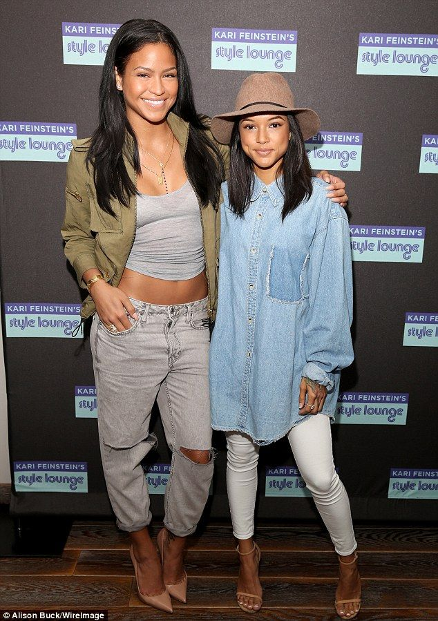 Great minds think alike: Later on Thursday, Karrueche joined Diddy's on/off girlfriend Cas...