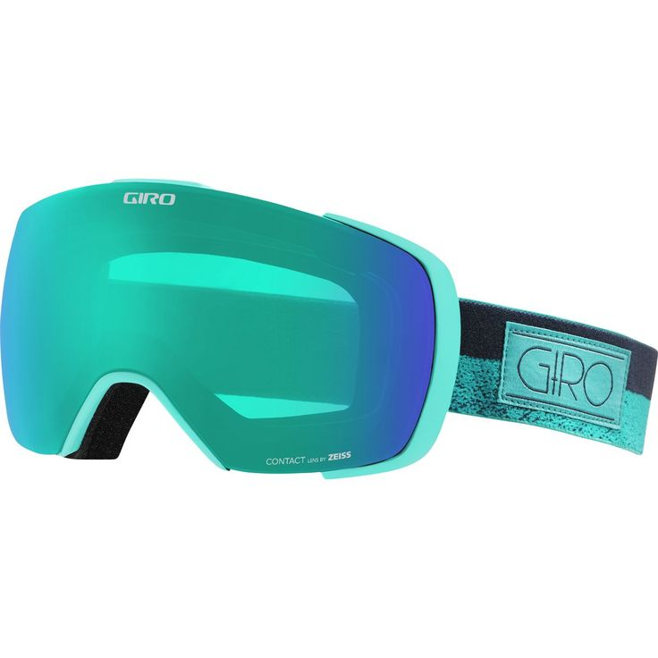 Giro Contact Goggle with Bonus Lens Turquoise/Turbulence Rails One Size