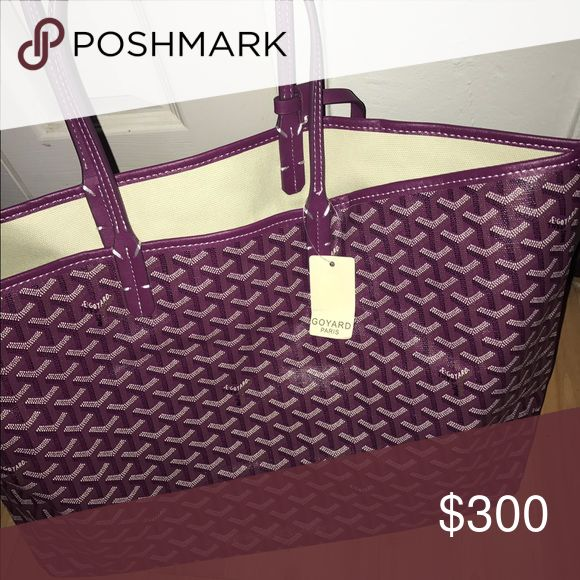 GOYARD ST LOUIS TOTE GM LARGE and BRAND NEW! Comes as pictured Bags Totes
