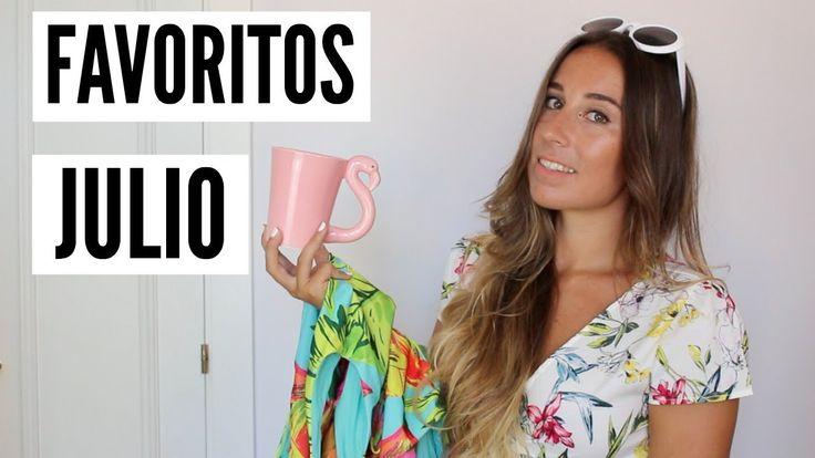 FAVORITOS Julio: Moda, Maquillaje, Deco, Música... - Trendencies TV. Youtube Video