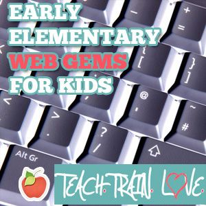 FREE Early Childhood Elementary Interactive Web Sites for Kids!