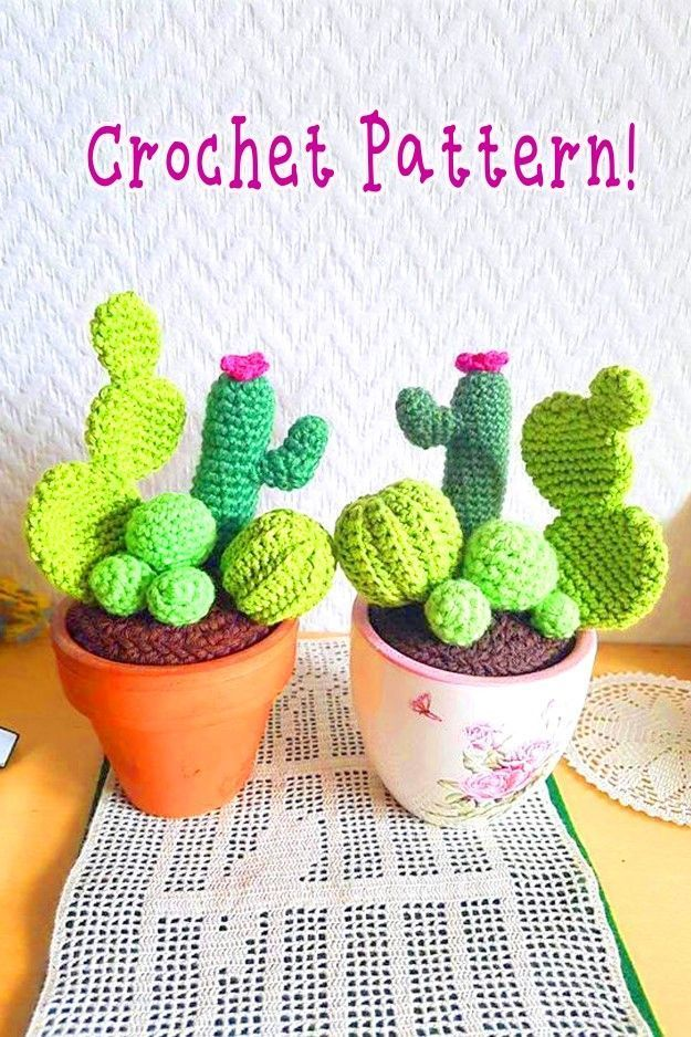 Amigurumi Cactus - © 2012 Toma Creations   find the pattern …   Flickr   938x625