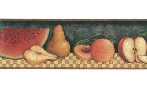 30902310 Fruit Wallpaper Border