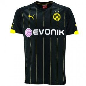 Borussia Dortmund are a top German football team http://www.soccerbox.com/blog/borussia-dortmund-cheap-replica-football-shirts/ however they are not playing very well at the moment. There is no better time than now to buy cheap replica football shirts because at Soccer Box the Borussia Dortmund away football shirt is now on special offer.