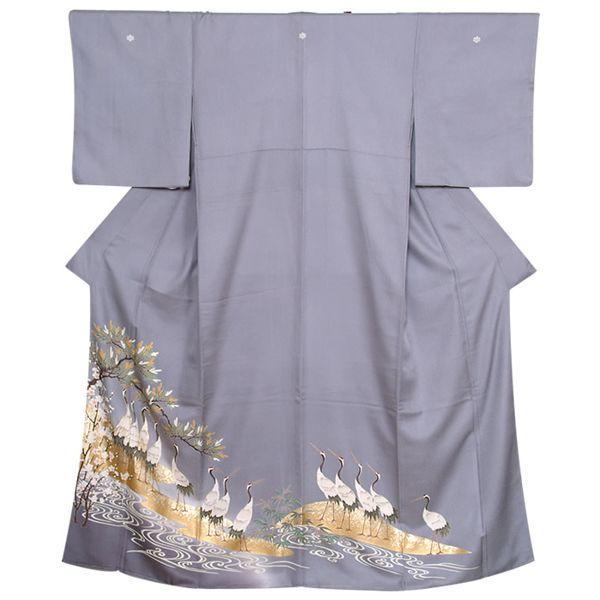 色留袖レンタルE010